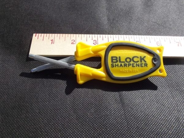 pocket size sharpener