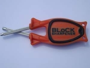 Hunters Orange Knife sharpeners for sale.