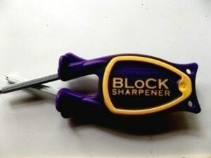 Blocks sharpener