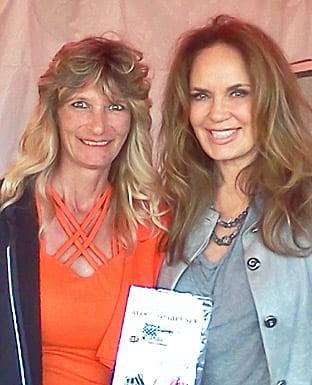 Billie Jo Block met Daisy Duke at the Dukes of Hazzard Reunion in Myron Georgia 2014.Where Daisy got her first Block knife sharpener.
