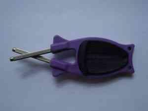 purple knife sharpener